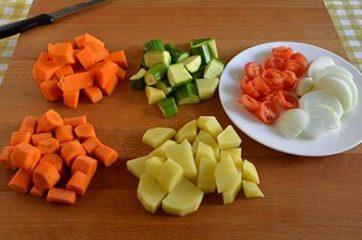 Cous cous con verdure e ceci 1