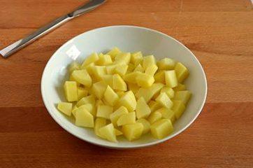 Pasta e patate al forno 1