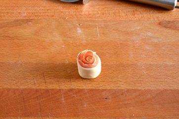 Rose di sfoglia salate 4