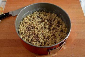 Sbriciolata con marmellata e cioccolato 6