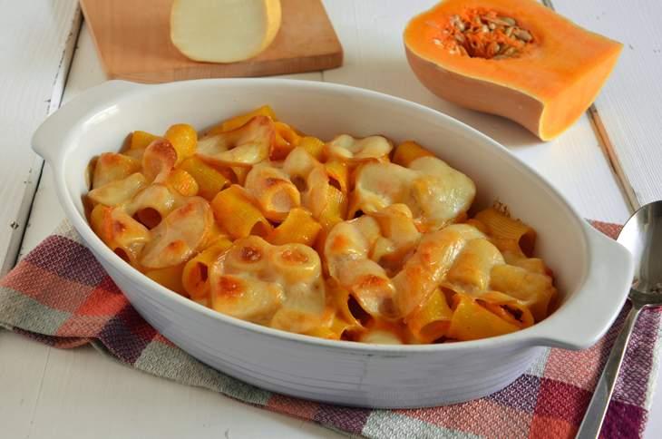 Ricetta Pasta Al Forno Con Zucca E Scamorza La Cucina Imperfetta