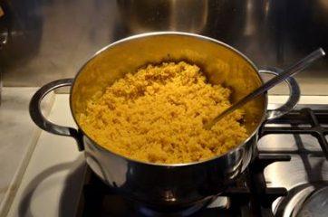 Quinoa con zucca  funghi e cavolfiore 5