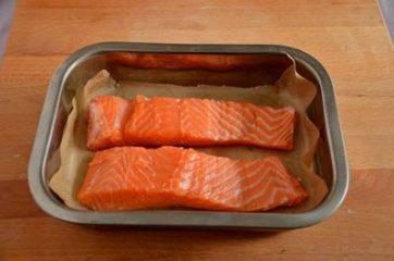 Salmone gratinato 4