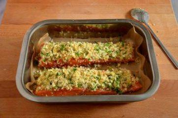 Salmone gratinato 5