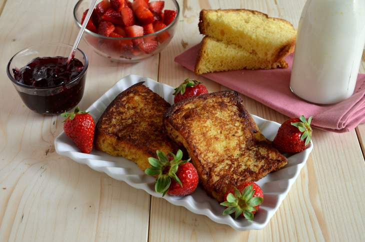 French toast di colomba