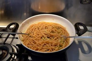 Pasta con i carciofi 8