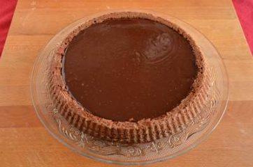 Crostata morbida al cioccolato 9