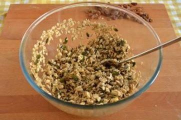 Granola con frutta secca e semi 4
