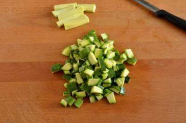 Pasta con pesto di zucchine e vongole 1