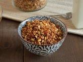 Granola con cereali soffiati