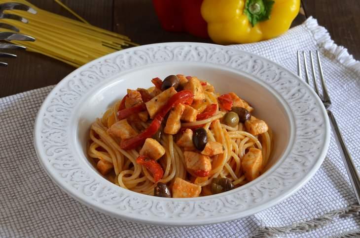 Pasta Con Pesce Spada E Peperoni La Ricetta Della Cucina Imperfetta