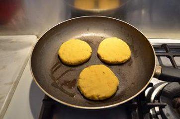 Burger di ceci 5