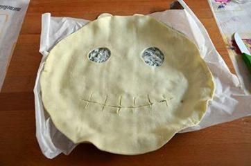 Torta salata di halloween 7