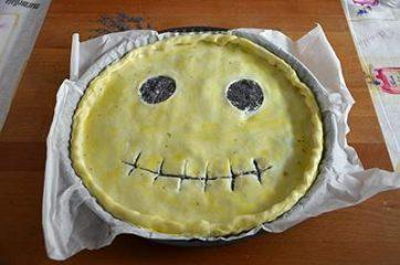Torta salata di halloween 8