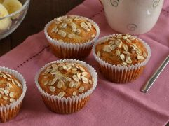 Muffin senza burro e senza uova