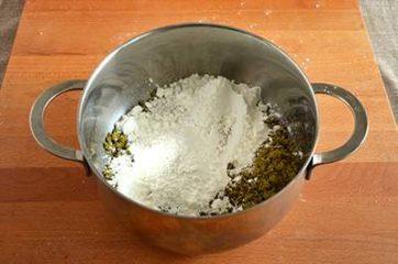 Crema al pistacchio senza uova 2
