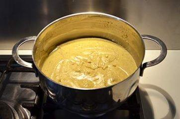 Crema al pistacchio senza uova 5