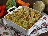 Pasta al forno con zucca e broccoli