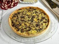 Quiche radicchio e gorgonzola
