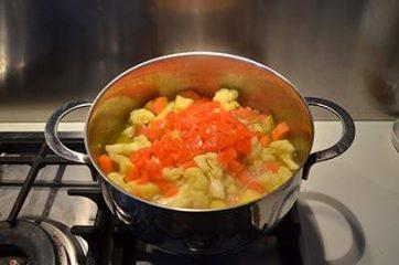 Stufato di patate, carote e cavolfiore 5