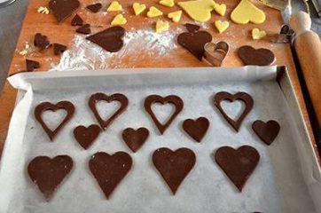 Biscotti a forma di cuore 6