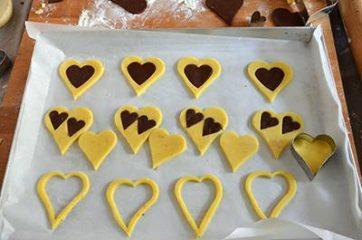 Biscotti a forma di cuore 7