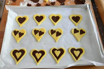 Biscotti a forma di cuore 8