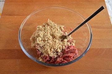 Polpette di carne e spinaci 3