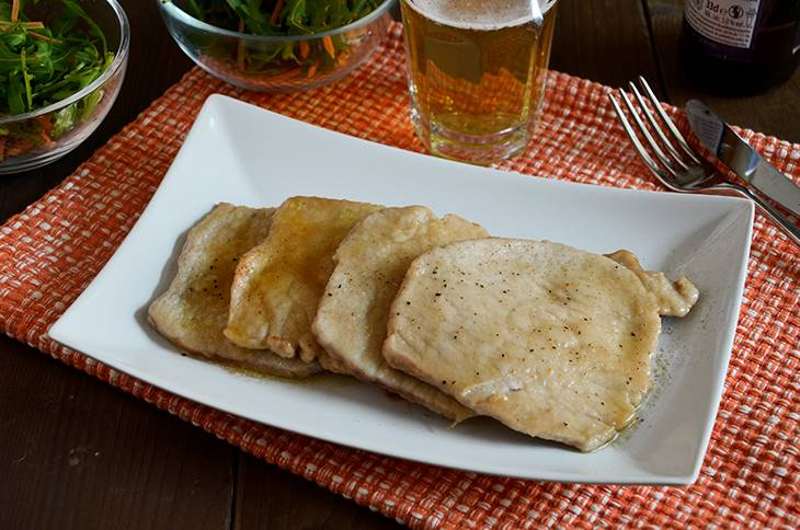 Scaloppine alla birra