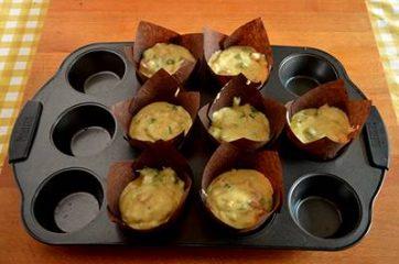 Muffin asparagi e mortadella 7