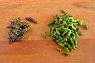 Pasta ricotta e asparagi 2
