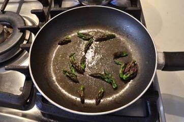 Pasta ricotta e asparagi 3