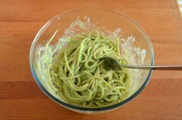 Pasta ricotta e asparagi 7