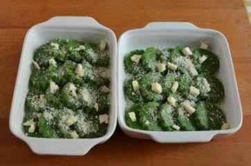 Gnocchi di semolino agli spinaci 9