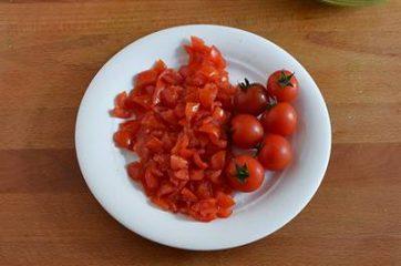 Plumcake con pesto di rucola e pomodorini 2
