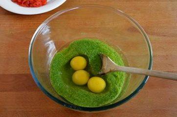 Plumcake con pesto di rucola e pomodorini 3