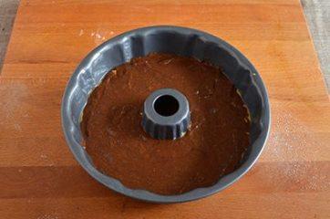 Ciambella zucca e cioccolato 9