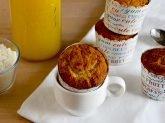 Muffin con succo d'arancia e cocco