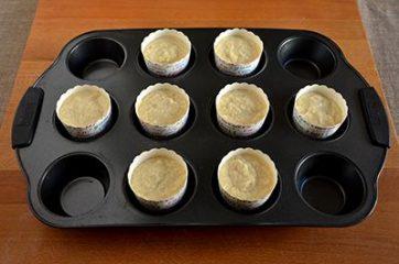 Muffin con succo di arancia e cocco 4