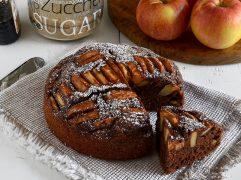 Torta di mele e cacao vegan