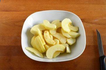 Torta di mele e cacao vegan 6