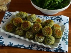 Polpette di merluzzo e spinaci