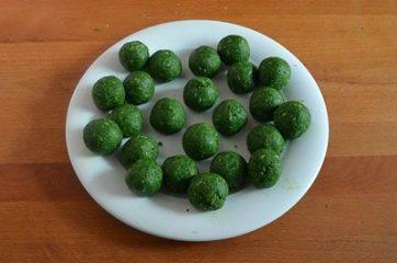 Polpette di merluzzo e spinaci 6