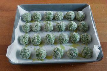 Polpette di merluzzo e spinaci 7
