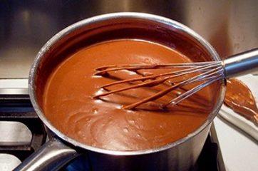 Budino al cioccolato 9