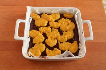 Brownies zucca e cioccolato 9