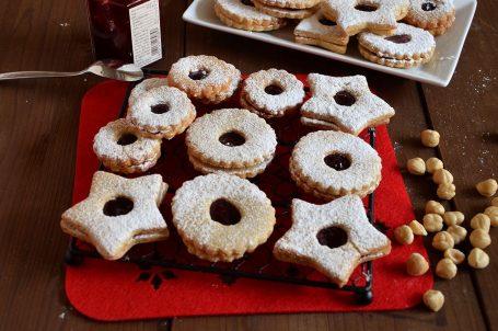 Biscotti Linzer o Linzer cookies