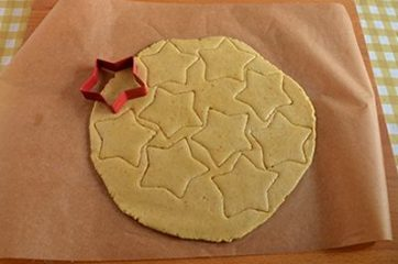 Biscotti Linzer o Linzer cookies 7