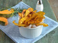 Chips di zucca