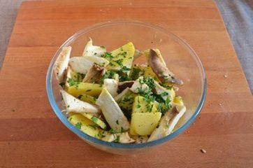 Funghi e patate al forno 4